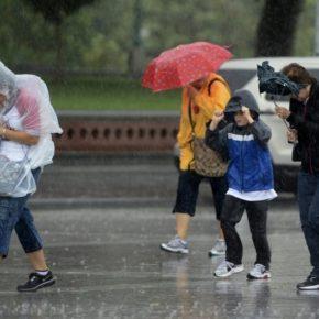 悪天候の日