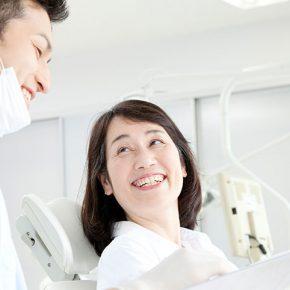 安心笑顔の患者